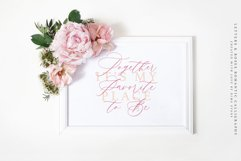 Letters & Roses / Luxury Script Product Image 5