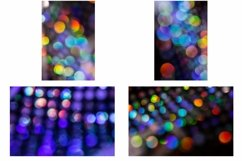 20 Sequin Bokeh Shiny Dots and Spots Background Product Image 2