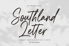 Southland Letter Product Image 1