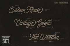 Anchorage Vintage Script Product Image 5