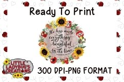 In Its Time 300 DPI PNG Printable Digital Design Product Image 1