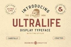 Ultralife Typeface Product Image 1
