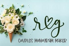 Couples Monograms - Initials perfect for Weddings! Product Image 6