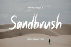 Web Font Sandbrush Font Product Image 1