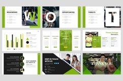 Sport - Fitness Business Workout Keynote Template Product Image 4