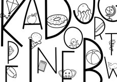 All The Thangs - A Handmade Letter & Doodle Font - Teaching Product Image 2