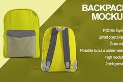 Backpack Mockup Product Image 4