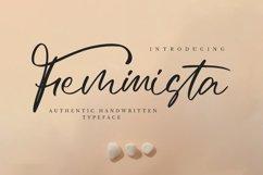Feminista - Elegant Script Font Product Image 1