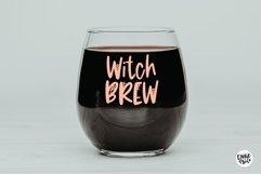 BLACK WIDOW a Webbed Halloween Font Product Image 3