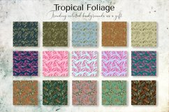 Tropical Foliage Watercolor Set Product Image 9