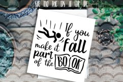 If you fall make it part of the book Vector typography Product Image 1