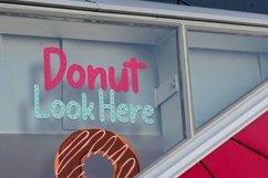 Web Font Meises - Doughnut Font Product Image 6