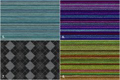 20 Knitted Weaving Background Textures Product Image 3