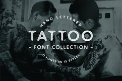 Tattoo Font Collection Product Image 1