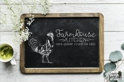 Farmhouse Charm - a smooth handwritten script font duo Product Image 2