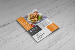 Food Menu Bifold-Trifold Brochure v2 Product Image 5