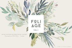 Foliage - Watercolor Leaves & Greenery Product Image 1