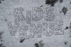 Web Font Holes Font Product Image 5