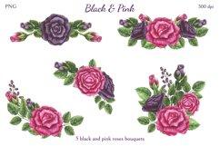 Black & Pink Product Image 5
