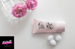 Dooflo - an amazing doodle floral font Product Image 5