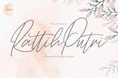 Rattih Putri - Handwritten Font Product Image 1