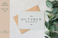 Bundle Mockup Card and Envelope in PSD and JPG | Card mockup Product Image 11