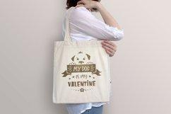Valentine dog svg, dog lover quote svg, dog valentines svg Product Image 2
