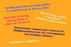 Breaking Rules - new quirky playful and funny font family. Product Image 5
