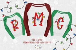 Bright Lights // A Merry Christmas Font Product Image 3