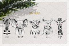 SAFARI BABIES watercolor set Product Image 4
