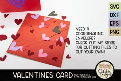 Love Card SVG - Love Valentine Heart SVG Cutting File Product Image 5