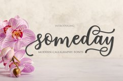 someday script Product Image 1