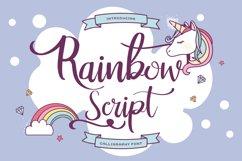 Rainbow Script Product Image 1