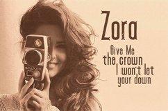 Zora - Vintage Display Font Product Image 3