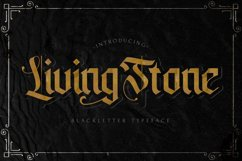 Livingstone - Blackletter Decorative Font Product Image 1