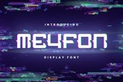 Web Font Meyfon Font Product Image 1