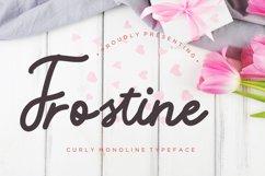 Frostine Monoline Typeface Product Image 1