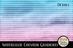 Watercolor Background Textures - Chevron Watercolor Papers Product Image 6