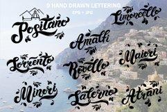 Amalfi Set. Amalfi Coast. Italy Product Image 2