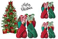 Fashion CHRISTMAS Girl Illustration Product Image 6