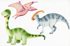 Watercolor Dinosaurs. Kit. Product Image 2