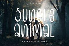 Jungle Animal | Handwritten Font Product Image 1