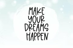 Web Font Dream Shake - A Quirky Handwritten Font Product Image 2