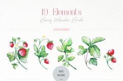 Berries Watercolor Bundle Product Image 5