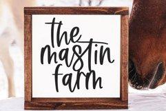 Farm Market - A Handwritten Script Font Product Image 4