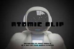 Atomic Blip | Font of the Future! Product Image 1