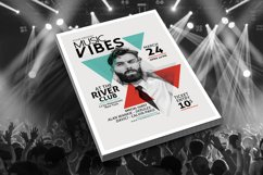 Minimal Music Flyer Template Product Image 3