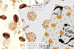 Coffee Beans Digital Patterns DP064 Product Image 2