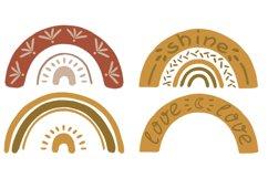 Textural BOHO rainbows Product Image 5