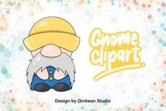 Gnome clipart, gnome png, cute gnome, Gnomestone, sticker Product Image 1